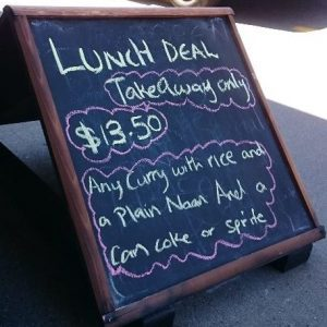 Lunch Special (takeaway only)
